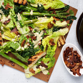 Asparagus and Kale Caesar Salad Recipe