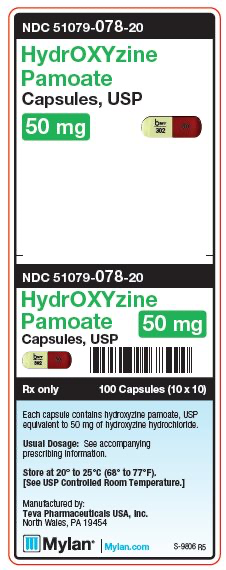 hydroxyzine label