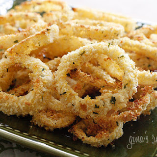 Low Fat Baked Onion Rings Recipe