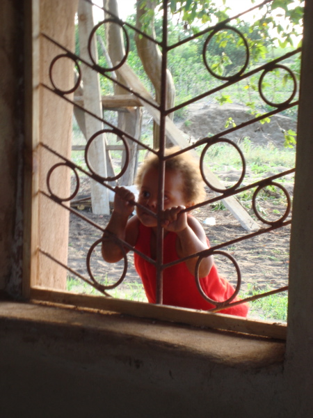 Photo: Anna at the window