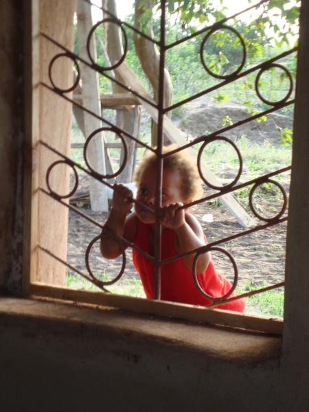 Photo: Anna at the window