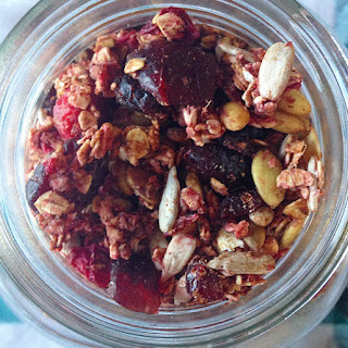 Cranberry Gingerbread Spice Granola