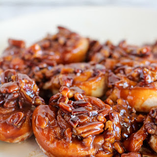 Easy Caramel Pecan Sticky Buns.