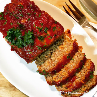 Meatloaf with Chilli Sauce.