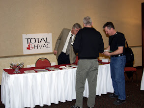 Photo: Career Fair 13:30-16:30 - Adam Beales created the usual Havoc at the Total HVAC table