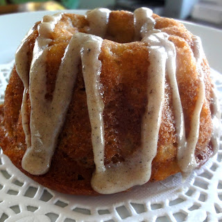 Pear Spice Cakes with Browned Butter Glaze