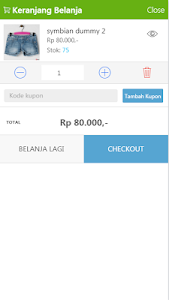 Jejualan Merchant Store Demo screenshot 2