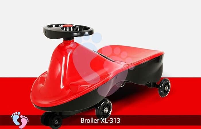 Xe lắc cho bé Broller XL 313 8
