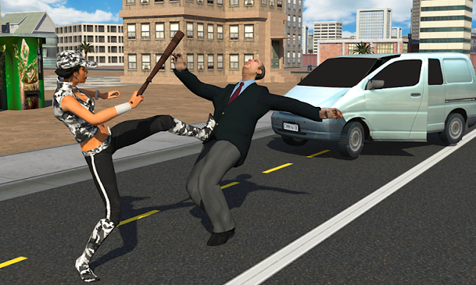 San Andreas Real Girl Gangster - screenshot