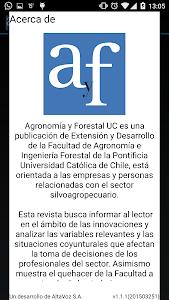 Agronomía y Forestal UC screenshot 5