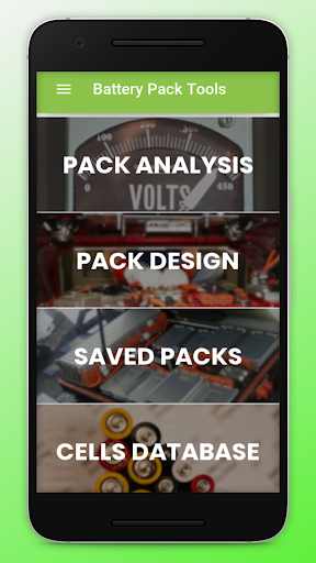 Battery Pack Tools - Design and Analysis  screenshots 1
