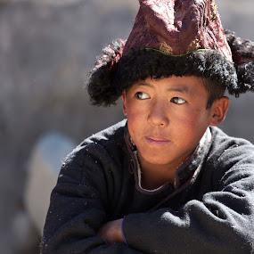Ladakhi Boy by Jasminder Oberoi - People Street & Candids ( canon 5d mark ii, canon, workshop, incredible india, ladakh festivalk, jammu and kashmir, people photography, candid, ladakh, ladakhi boy, klik school, photography, portrait, leh, portraiture, light chasers, portrait photography, photo tour, klik, india, masterclass, jas fotography )