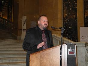 Photo: Mathias HARZHAUSER, Directeur de la partie Géologie-Paléontologie du Musée NHM.