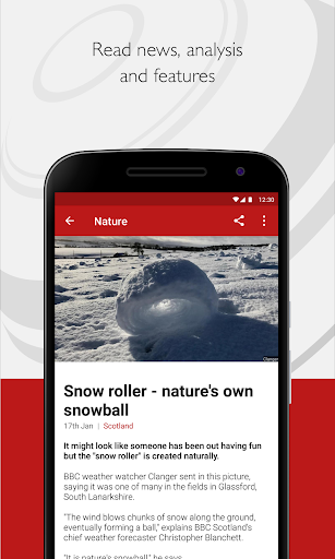 BBC News screenshot for Android