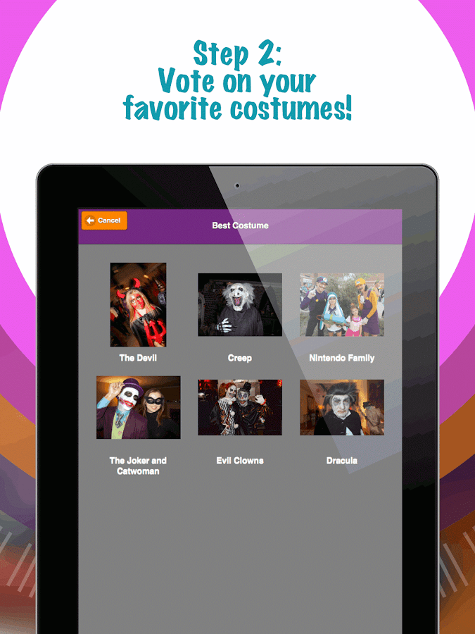 PartyVote: Costume Contest- screenshot