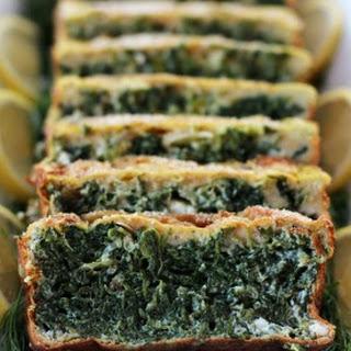 Feta Spinach Mold