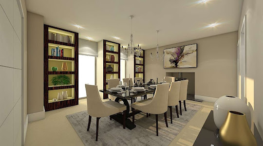 architectural projects in Buckinghamsire & Hertfordshire | Dining Room Plan