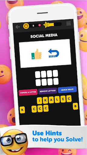 Guess The Emoji - Trivia and Guessing Game! 9.39 Screenshots 5