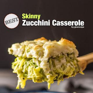 Best Skinny Zucchini Casserole.
