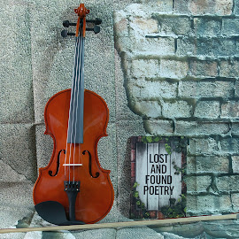 Lost and Found Poetry by D.M. Russ - Artistic Objects Still Life