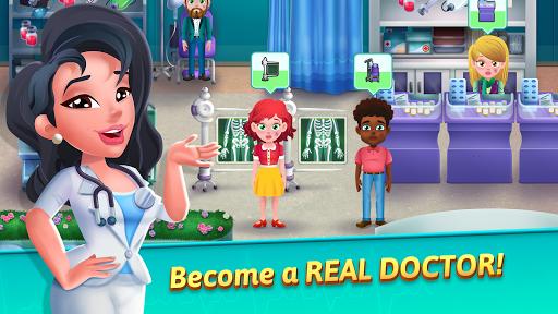 Medicine Dash - Hospital Time Management Game apkbreak screenshots 1