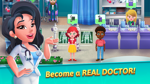 Medicine Dash - Hospital Time Management Game 1.0.3 Mod screenshots 1