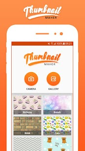 Thumbnail Maker-Youtube,FB,Instagram,Twitter etc.. - náhled