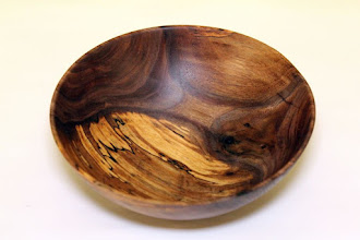 "Photo: Jim Allison 5 1/2"" x 1"" bowl [walnut]"