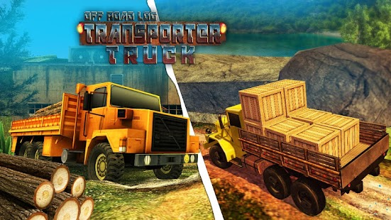 Offroad Log Transporter – Hill Climb Cargo Truck - náhled