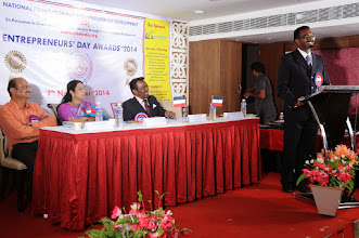 Photo: Special Address by Guest of Honour, Mr. Bobby A. Mathew, Director, Enhance Academy (India) Pvt. Ltd & Busines Head, TalentTies, Coimbatore