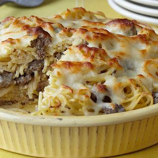 Ranch Spaghetti Pie.