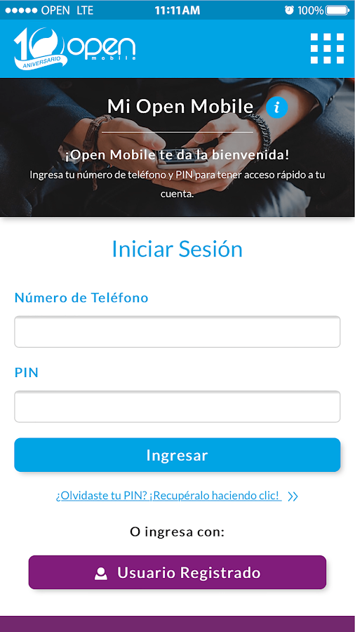 MI Open Mobile- screenshot