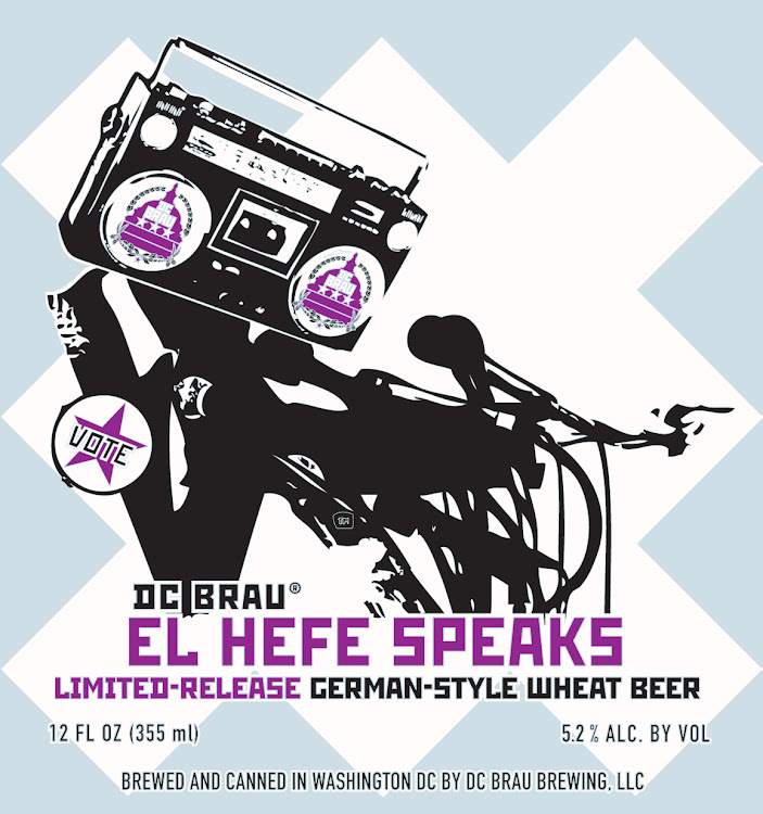 Logo of DC Brau El Hefe Speaks