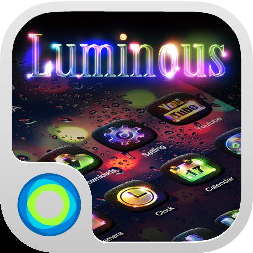 个人化の夜光 Hola Launcher テーマ LOGO-記事Game
