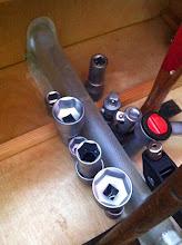 Photo: collage protection profondeur dans le coffre