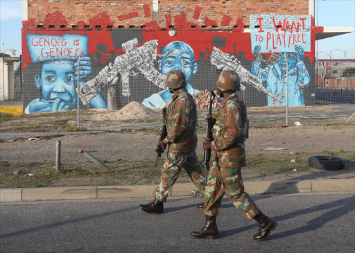 Our own people are dying and our own army, certainly in the Collins Khosa case, is trying to sweep their deaths under the carpet, says the writer.