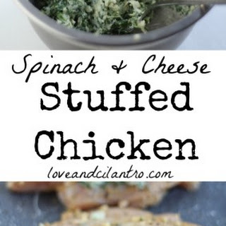Spinach and Cheese Stuffed Chicken Breast