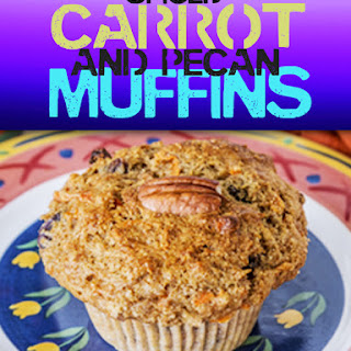Spiced Carrot and Pecan Muffins