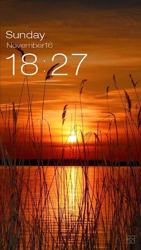 ZUI Locker Theme - Sunset