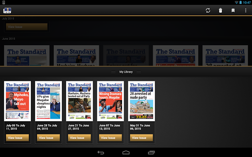 The Standard News Zimbabwe  screenshots 7