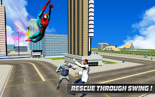 Spider Hero in Action: Street Fighting City Battle - náhled
