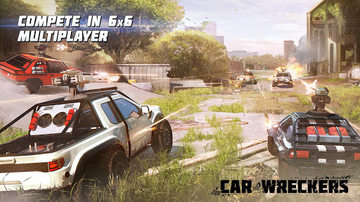 Car Wreckers Beta: Robot Cars PvP Shooter Warfare u0635u0648u0631 1