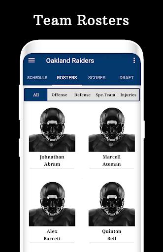 Raiders - Football Live Score & Schedule hack tool
