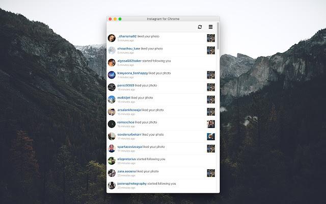 Instagram for Chrome chrome extension