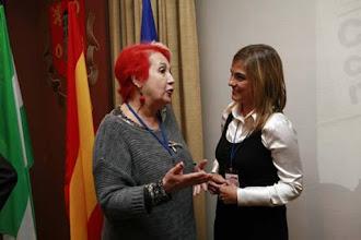 Photo: XIII Jornada Internacional de Comunicación Siglo XXI ¿Cómo salir juntos de la crisis? Rosa Mª Calaf y Lourdes Maldonado