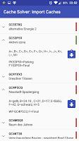 Screenshot of Locus - multi cache solver