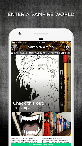 Vampire Amino - screenshot