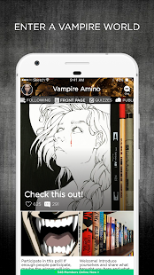 Vampire Amino - náhled