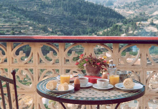 Photo: Breakfast in Villa Pico - Sella - Spain