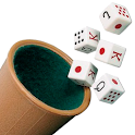 Beaker: dice game -1 or 2 players icon